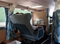 … und es auch in Reisebussen eine erste Klasse gibt (Bild: PD)