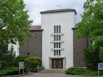 Berlin-Westend, Klosterkirche Mariae Verkündigung, 2012 (Bild: Bodo Kubrak, CC0)