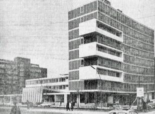 Berlin, DGB-Haus, 1964 (Bildquelle: Die Quelle 15, 1964, 6, S. 276)