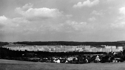 Blick auf Gera-Lusan (Foto: Winfried Mann, Quelle: Stadtmuseum Gera)