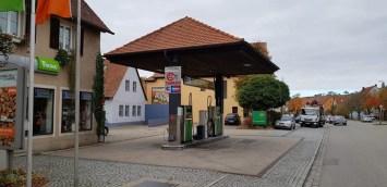 Colmberg, Tankstelle (Bild: Monika Kühlwein)