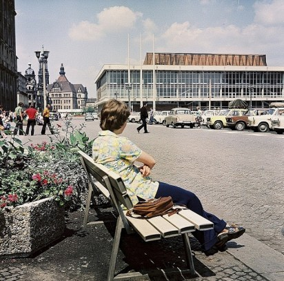 Dresden, Kulturpalast, 1970 (Foto: Richard Peter, Bild: Deutsche Fotothek df ps 0002842, CC BY SA 3.0)