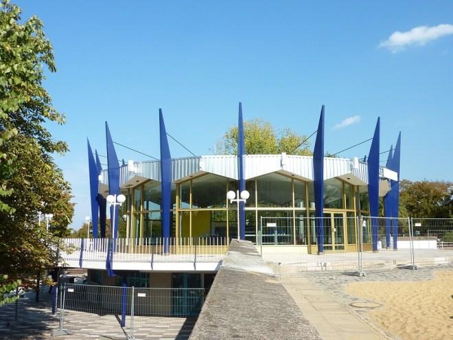 Erfurt, Rundpavillon im egapark (Bild: Spangenberg + Braun)