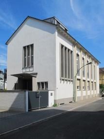 UMNUTZUNG: Frankfurt am Main-Nordend, Umnutzung der Church of Christ (1954, Umnutzung 2005) für Wohnzwecke