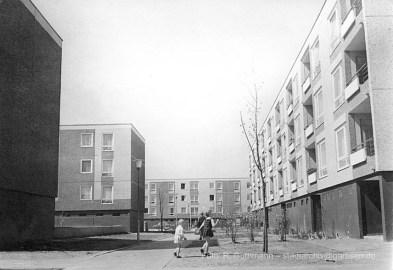 """Garbsen """"Auf der Horst"""" Mitte der 1960er Jahre (Foto: Rudolf Guthmann, Bild vom Stadtarchiv Garbsen)"""