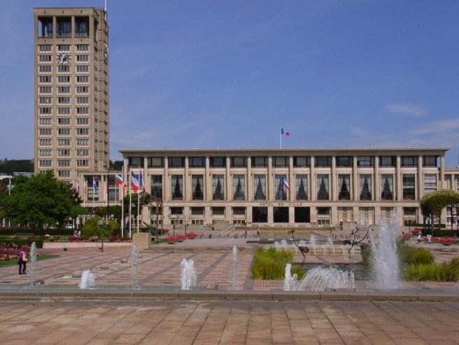 Le Havre, Rathaus (Bild: Bodoklecksel, CC BY SA 3.0)