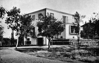 Prachatice, Villa Kral zur Bauzeit (Bild: zivavila.cz)