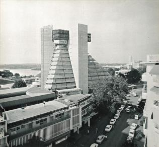 Abidjan, La Pyramide (Rinaldo Olivieri, 1968-73) (Copyright: DAM)