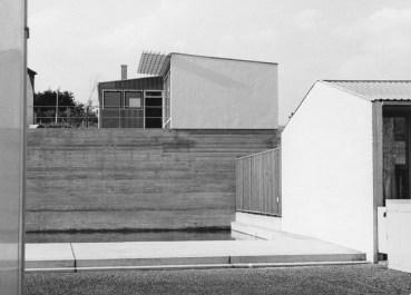 Roland Rainer, Carl Auböck: Fertighaussiedlung Veitingergasse, Wien, 1953 (Bild: Architekturzentrum Wien, Sammlung)
