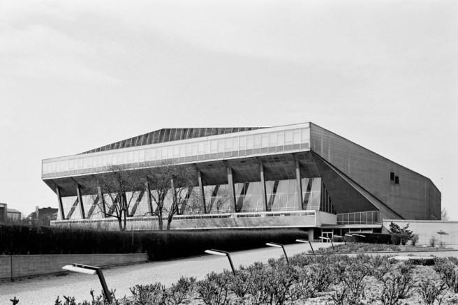 Roland Rainer, Stadthalle Wien, 1958 (Bild: Architekturzentrum Wien, Sammlung, Foto: Margherita Spiluttini)