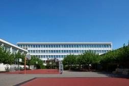 Saarbrücken, Deutsch-Französisches Gymnasium (1954, Pierre Lefèvre) (Bild: Marco Kany)