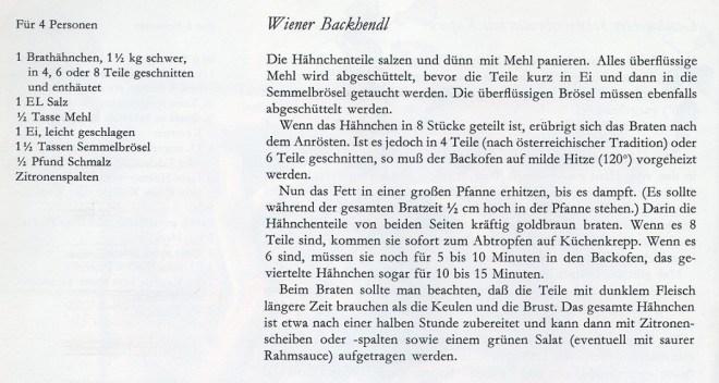 Das Rezept fürs Wiener Backhendl (Bild: Time Life)