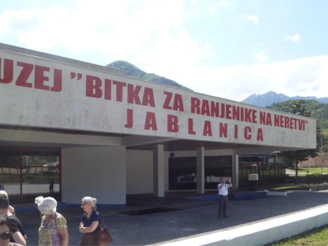 Museum von Jablanica (Bild: JoJan, CC BY SA 3.0)
