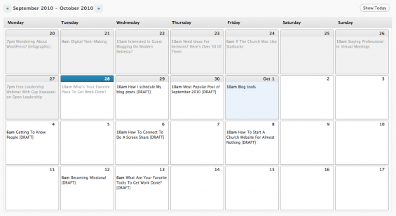 How I Schedule My Blog Posts