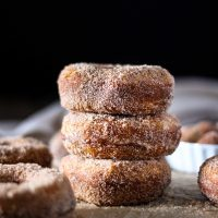 4-Ingredient Cinnamon Sugar Donuts
