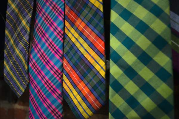 Bonobos Ties Close Up