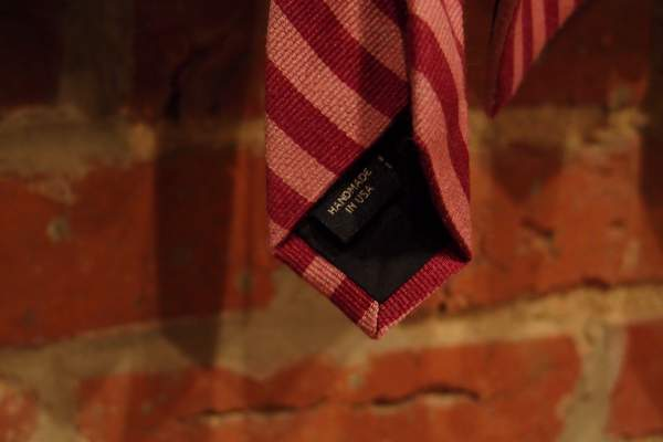 All of Bonobos' neckties are made in America.