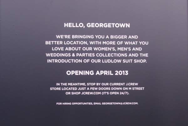 J Crew Ludlow Suit Shop Announcement