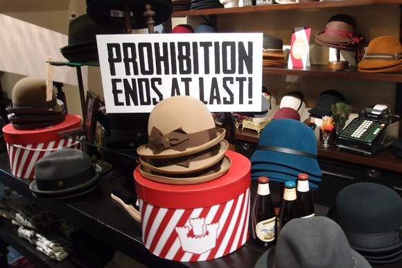 Prohibition-display-at-Goorin-Bros-DC