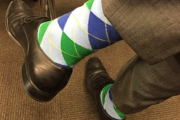 Unsimply-Stitched-blue-argyle-socks