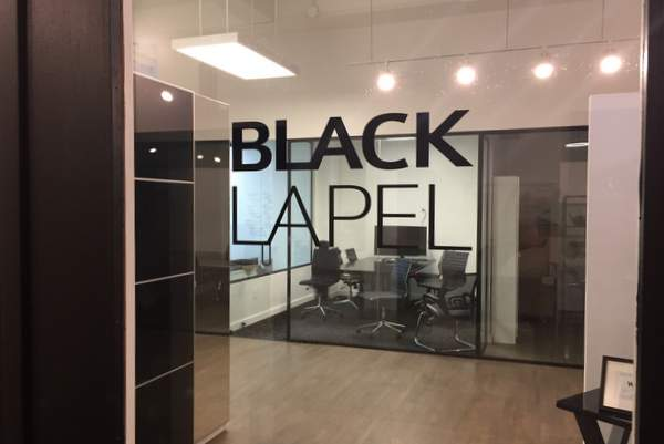 Look inside the new Black Lapel suit showroom with co-founder Derek Tian
