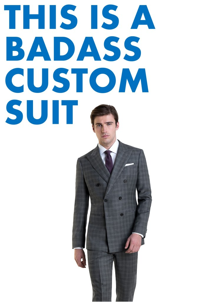 This is a Badass Custom Suit from Black Lapel (and an Opportunity to Announce that Modern Fellows is On Pinterest)
