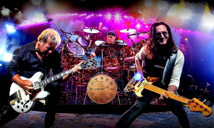If Neil Peart ever goes down... Rush have their replacement all lined up.