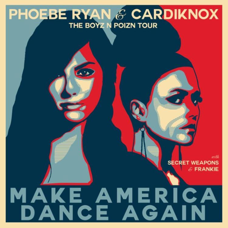 phoebe ryan cardiknox make america dance again 2016