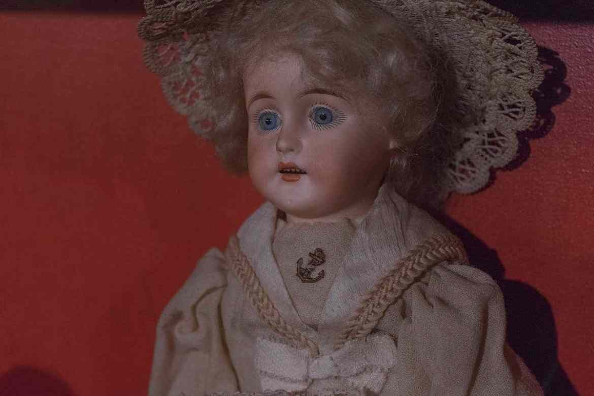 Antique doll at York Castle Museum
