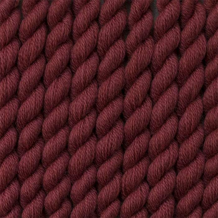 dark antique rose - hand dyed wool embroidery threads