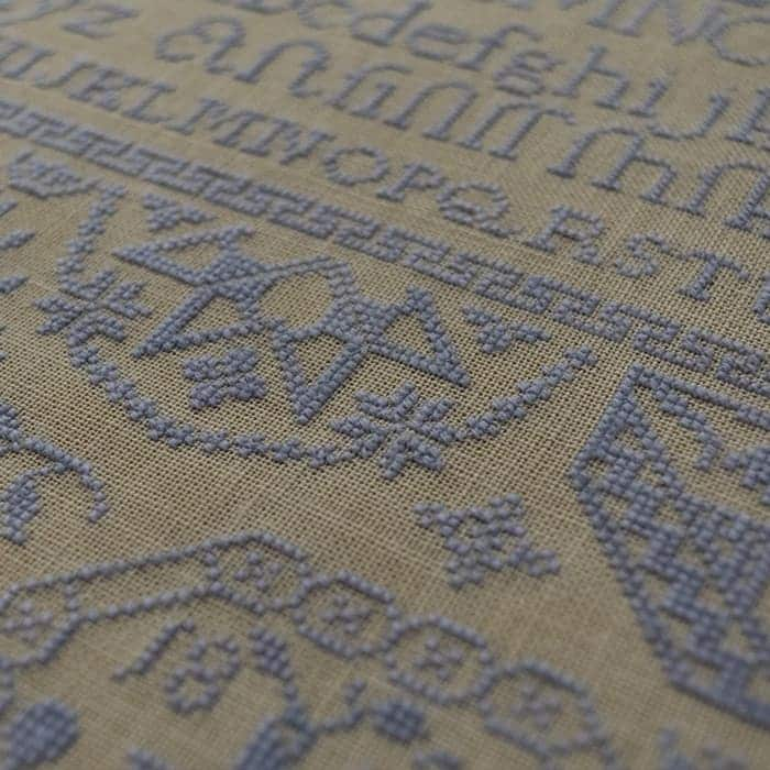 Quaker Sampler: Peace To My Friend - period inspired cross-stitch pattern