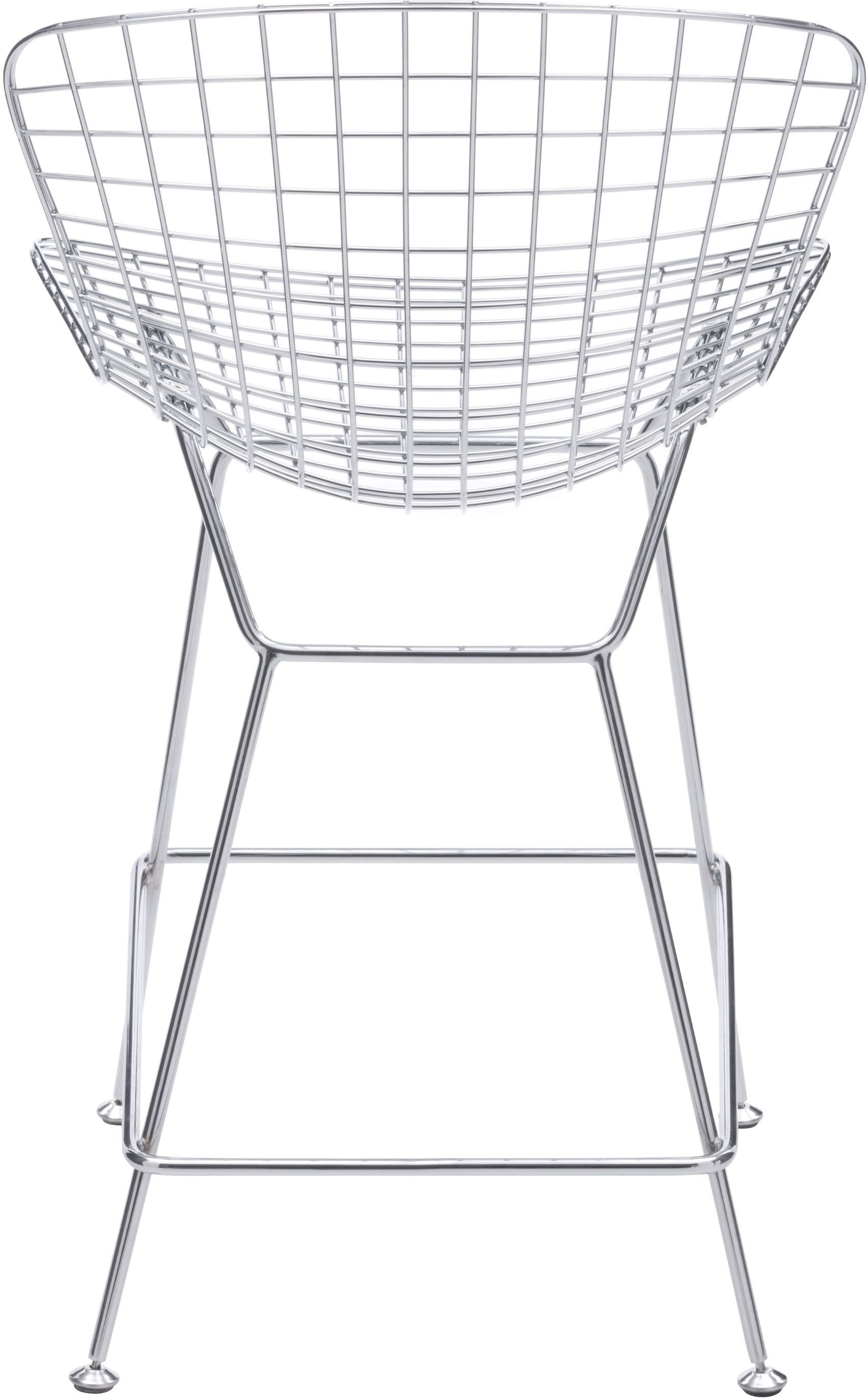 Zuo Modern Wire 23 6 Counter Chair Set Of 2