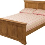 French Chateau Solid Oak Double Bed Modern Furniture Direct