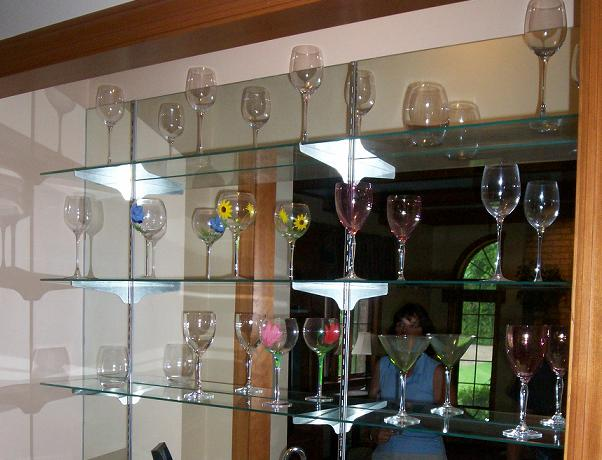 Glass Tops And Shelves Gallery Modern Glass Designs