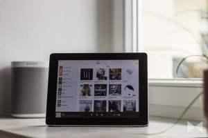 Sonos App 5.3 auf iPad