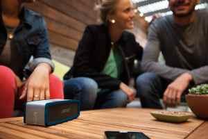 Bose-Soundlink-Mini-2 Bluetooth-Lautsprecher in blau