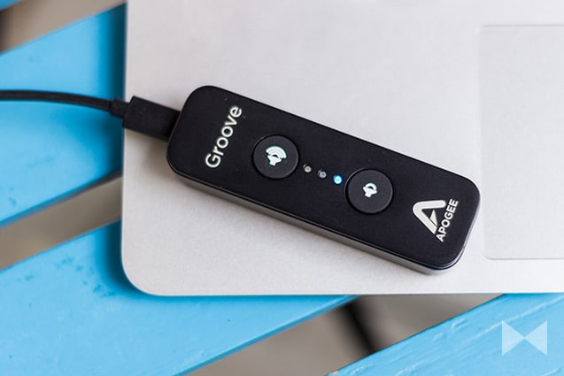 Apogee-Groove mit LED-Anzeige