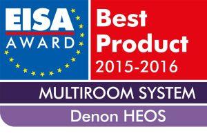 EISA-Award-Logo für die Kategorie HiFi 2015 2016