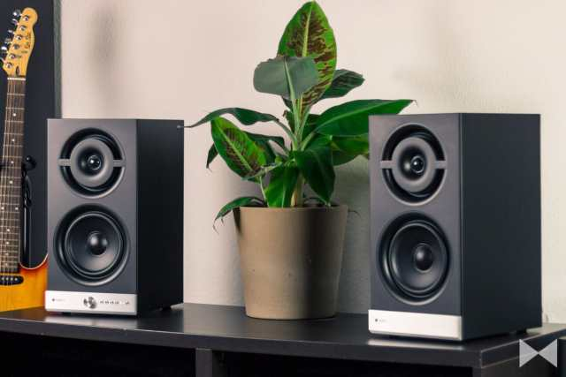 Raumfeld-Stereo-M-Test Wireless-Lautsprecher vom Berliner Multiroom-System
