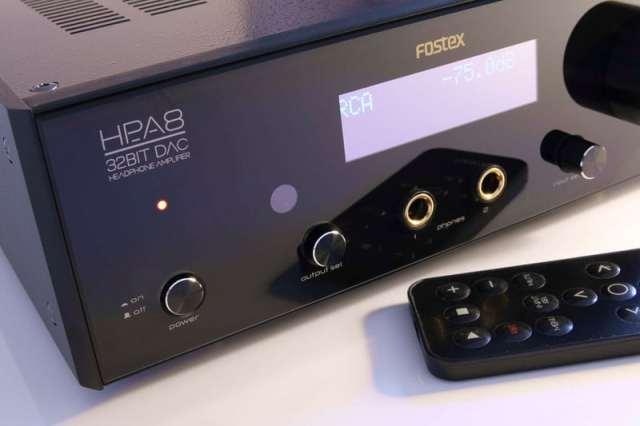 Fostex-HP-A8 Test Kopfhörer-Verstärker