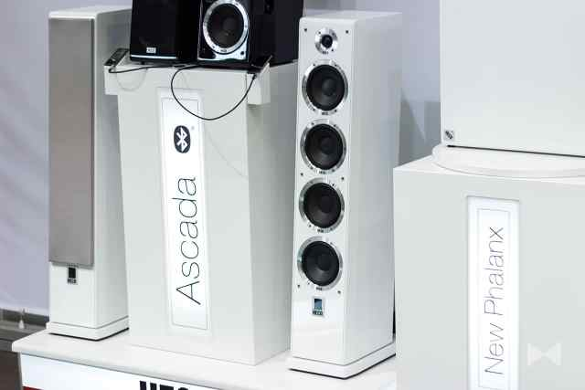 Heco-Ascada-600-Tower Aktiv-Standlautsprecher mit Bluetooth Apex und HD-Audiostreaming
