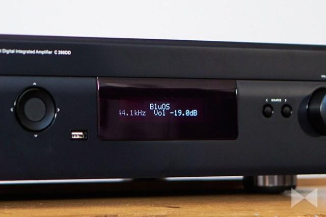 NAD C 390DD2 mit BluOS-Modul