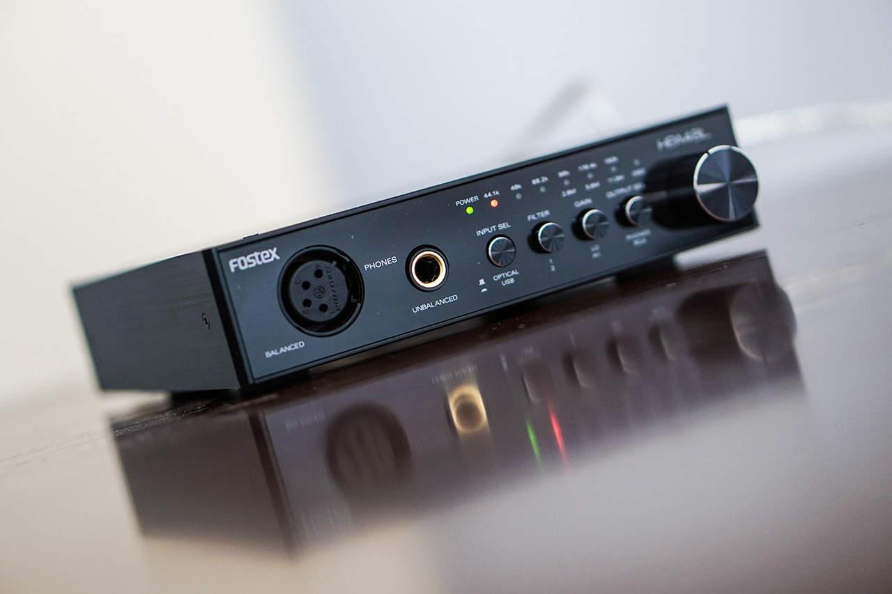 Fostex HP-A4BL Test des Kopfhörerverstärkers
