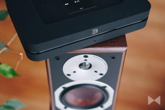 Dali Wireless-Lautsprecher mit Bluesound Node 2 Streamer und BluOS