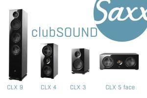 Saxx clubSOUND: neue Lautsprecherserie zur IFA 2017