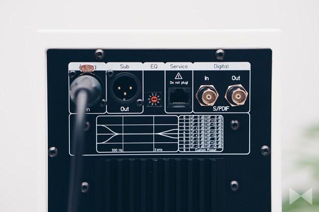 Schanks Prisma 2 mit XLR- und BNC-Buchsen und Equalizer