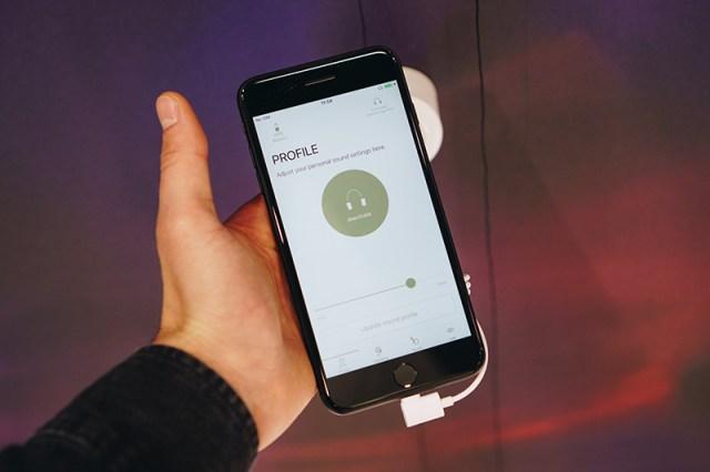 Beyerdynamic MIY App auf einem Smartphone
