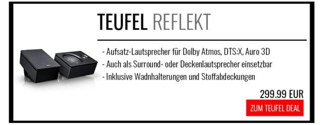 Teufel Reflekt kaufen Dolby-Atmos-Lautsprecher für DTS:X und Auro 3D