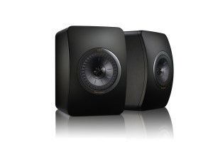 KEF LS50 Special Black Edition Regallautsprecher