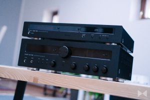 Magnat MCD 750 CD-Player mit Magnat MR 780 Stereo-Receiver